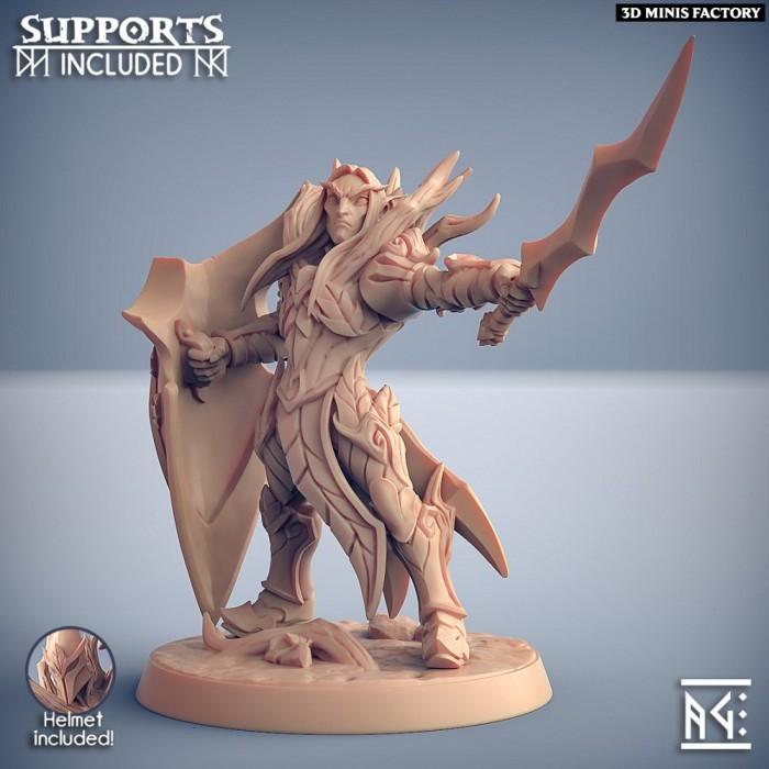 Sylvan Knight - Modular C (male) des Sylvan Knight créé par Artisan Guild de 3D Minis Factory