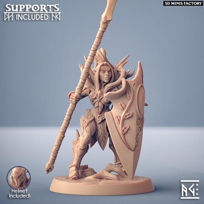 Sylvan Knight - Modular F (lady) des Sylvan Knight créé par Artisan Guild de 3D Minis Factory