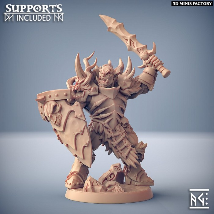 Frostmetal Clan Orc - Modular B des Frostmetal Clan créé par Artisan Guild de 3D Minis Factory