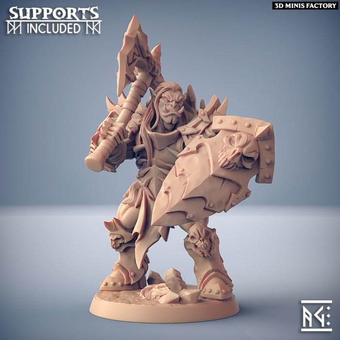 Frostmetal Clan Orc - Modular C des Frostmetal Clan créé par Artisan Guild de 3D Minis Factory