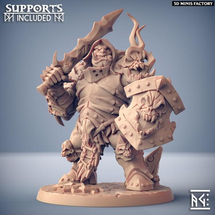 Frostmetal Clan Ogre - Modular F des Frostmetal Clan créé par Artisan Guild de 3D Minis Factory
