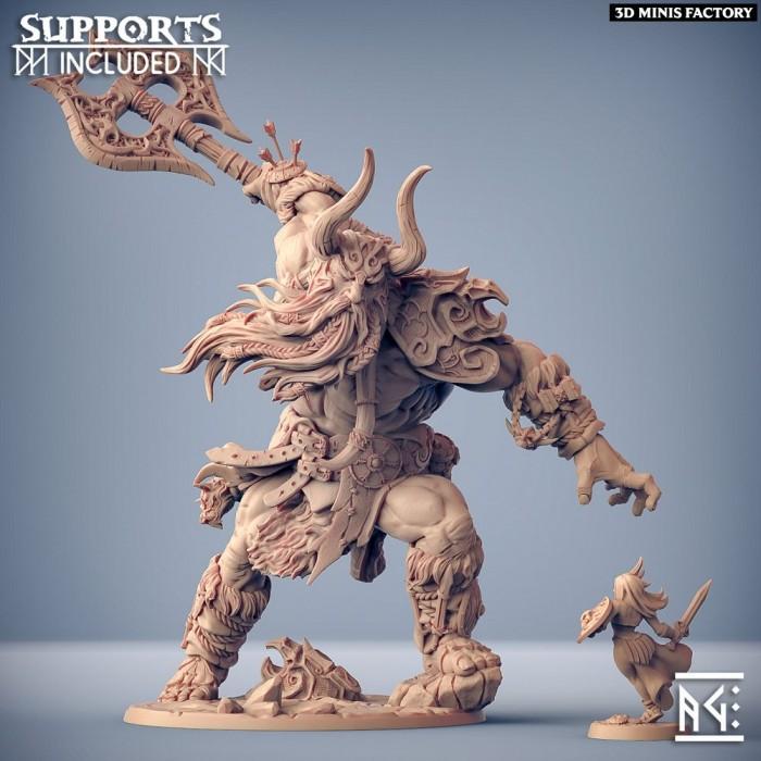 Hulgfnir des Epic Bosses créé par Artisan Guild de 3D Minis Factory