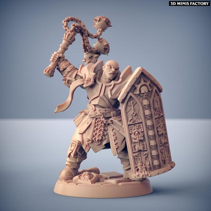 Requiem Templar - Modular C des Requiem Brotherhood créé par Artisan Guild de 3D Minis Factory