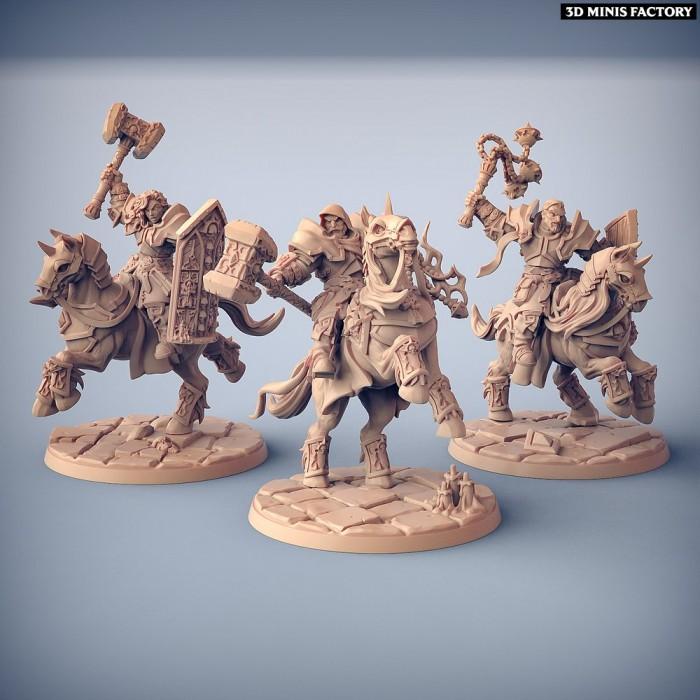 Requiem Cavalry des Requiem Brotherhood créé par Artisan Guild de 3D Minis Factory