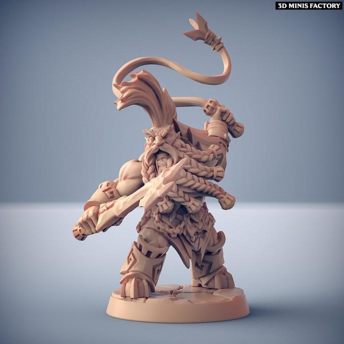 Dumlok Flameseekers B des Dumlok Flameseekers créé par Artisan Guild de 3D Minis Factory