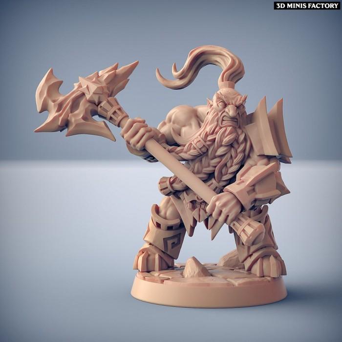Dumlok Flameseekers C des Dumlok Flameseekers créé par Artisan Guild de 3D Minis Factory
