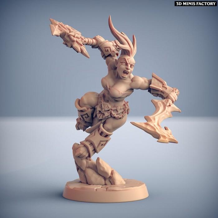 Dumlok Flameseekers D des Dumlok Flameseekers créé par Artisan Guild de 3D Minis Factory