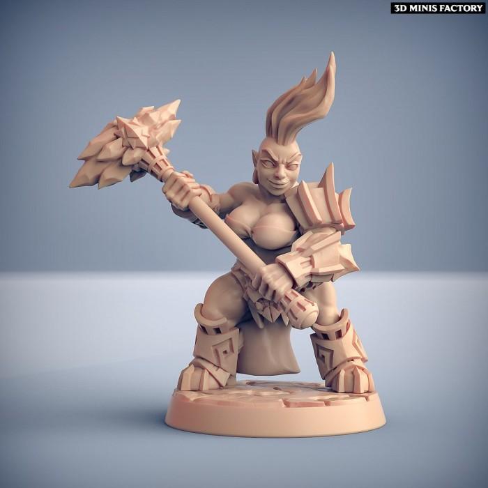 Dumlok Flameseekers F des Dumlok Flameseekers créé par Artisan Guild de 3D Minis Factory