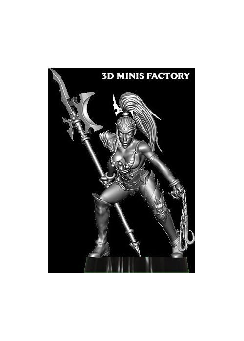 Dark Elf Princess 9 des Dark Elf créé par Avatars of War de 3D Minis Factory