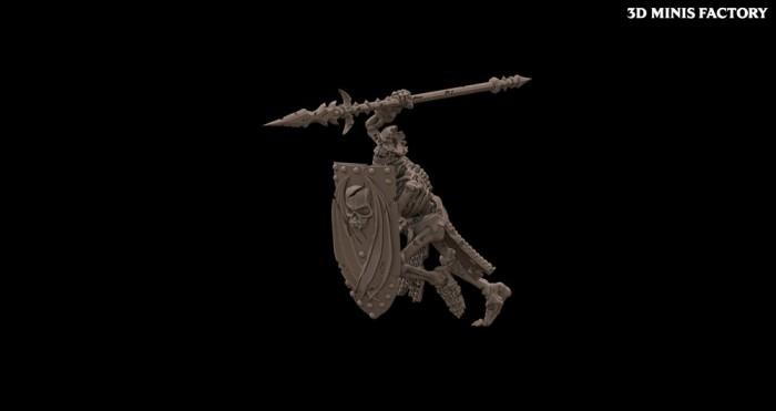 Undead Character 10 des Undead créé par Avatars of War de 3D Minis Factory