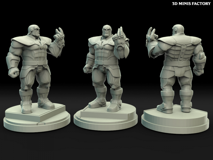 Thanos des Comics créé par Legion Miniatures de 3D Minis Factory