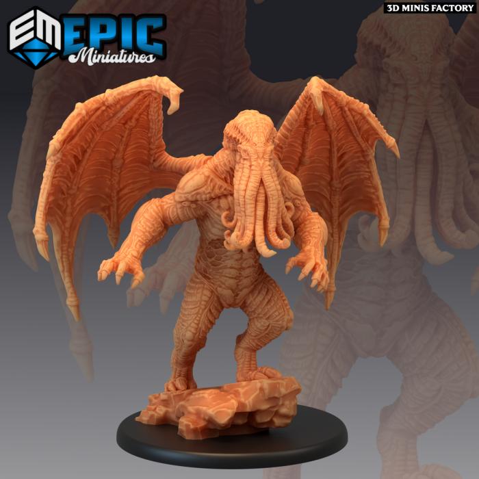 Star Spawn des Endless Nightmare créé par Epic Miniatures de 3D Minis Factory