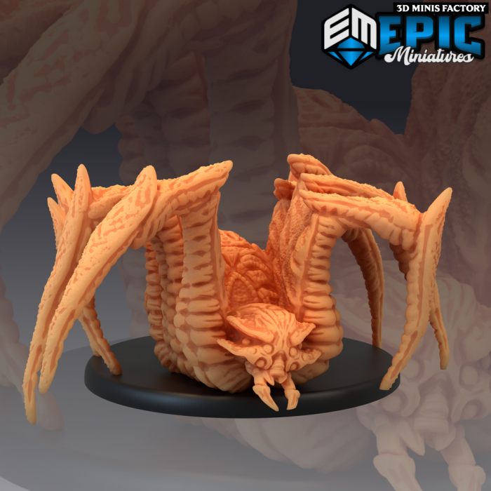 Giant Cave Spider des Corrupted Forest créé par Epic Miniatures de 3D Minis Factory