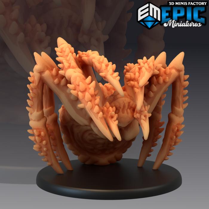 Giant Thorn Spider des Corrupted Forest créé par Epic Miniatures de 3D Minis Factory