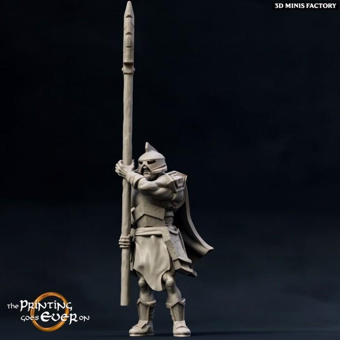 Half-Orc crossbowman B des Chapter 12 - The Fighting Half-Orcs créé par The Printing Goes On de 3D Minis Factory