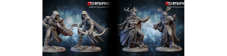 Wood Elves de Ghamak pour Warhammer 9th age, AOS, KOW,...