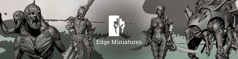 Cursed Elves de Edge Miniatures pour Warhammer 40.000, Infinity, Necromunda, etc.