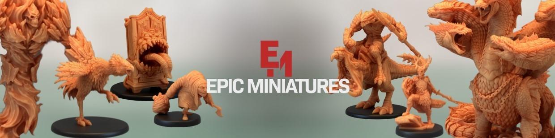 Epic Miniatures de Heroic Fantasy pour Warhammer 9th age, AOS, KOW,...