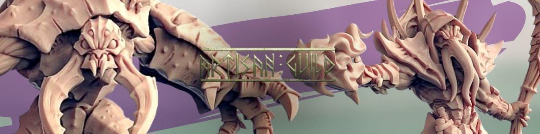 Depth One Reaver de Artisan Guild pour Warhammer 9th age, AOS, KOW,...
