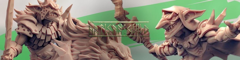 Sparksoot Goblin de Artisan Guild pour Warhammer 9th age, AOS, KOW,...