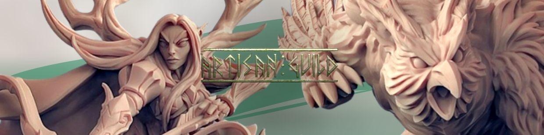 Deepwood Alfar de Artisan Guild pour Warhammer 9th age, AOS, KOW,...