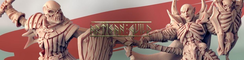 Soulless Vampire de Artisan Guild pour Warhammer 9th age, AOS, KOW,...