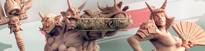 Oni Clan de Artisan Guild pour Warhammer 9th age, AOS, KOW,...