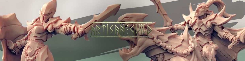 Ashen Alfar Inquisitors de Artisan Guild pour Warhammer 9th age, AOS, KOW,...