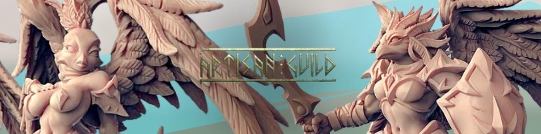 Eye-Cult Gryphkin de Artisan Guild pour Warhammer 9th age, AOS, KOW,...