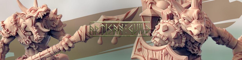 Plague-Mine Kobolds de Artisan Guild pour Warhammer 9th age, AOS, KOW,...