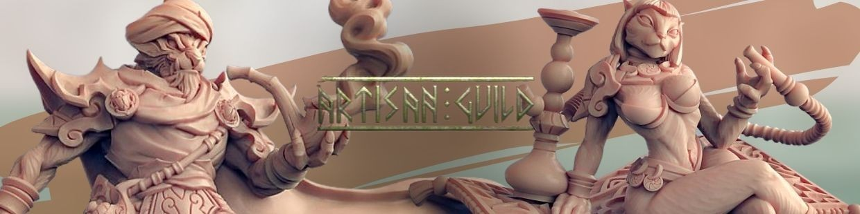 Rakshakin Headhunters de Artisan Guild pour Warhammer 9th age, AOS, KOW,...