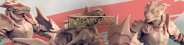 The Dragonguard de Artisan Guild pour Warhammer 9th age, AOS, KOW,...