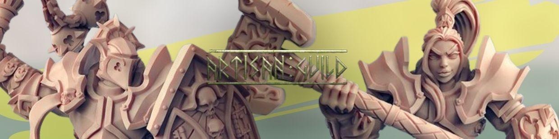 Requiem Brotherhood de Artisan Guild pour Warhammer 9th age, AOS, KOW,...
