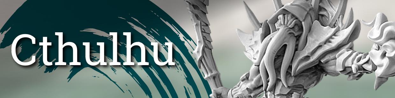 Retrouvez toutes les figurines de la thématique Cthulu