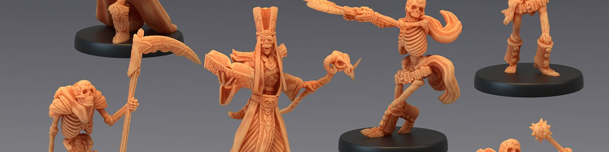 The Crypt of Dread de Epic Miniatures pour Warhammer 9th age, AOS, KOW,...