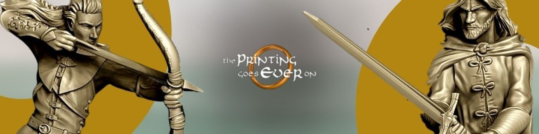 Communauté de l'Anneau de The Printing Goes Ever On pour Warhammer 9th age, AOS, KOW,...