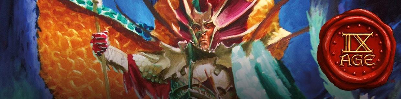 Retrouvez les Dread Elves (Elfes Noirs) pour 9th Age !