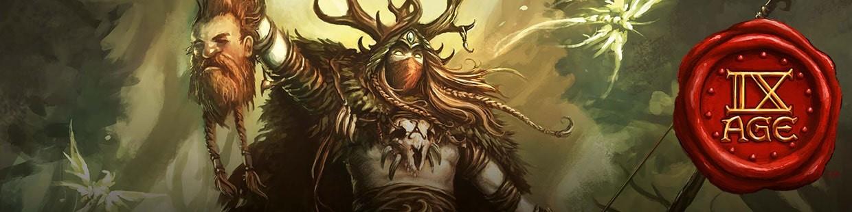 Retrouvez les Sylvan Elves (Elfes Sylvestres) pour 9th Age !