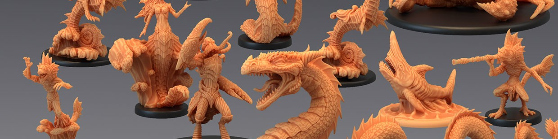 Endless Depth de Epic Miniatures pour Warhammer 9th age, AOS, KOW,...