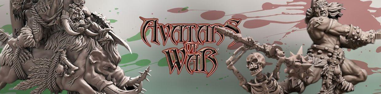Avatars of War de Heroic Fantasy pour Warhammer 9th age, AOS, KOW,...