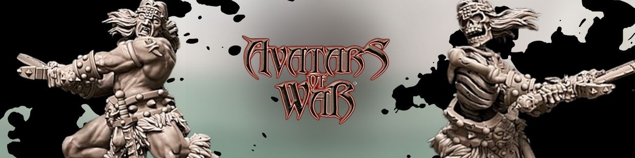 Barbarians de Avatars of War pour Warhammer 9th age, AOS, KOW,...
