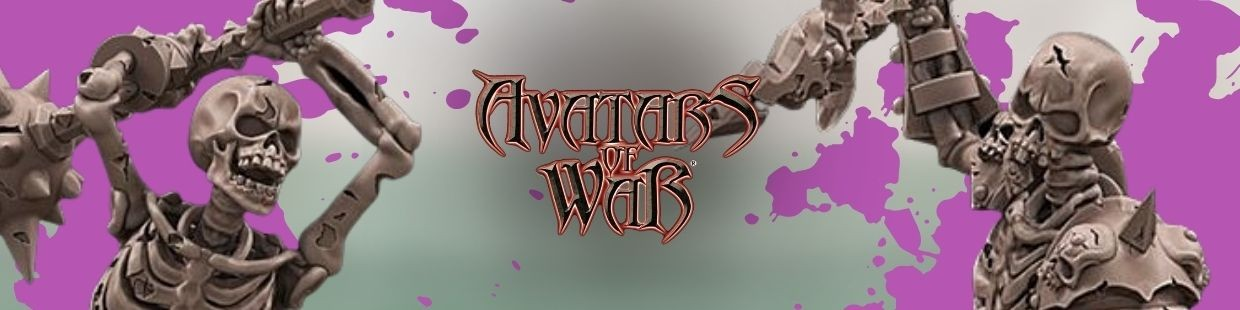 Undead de Avatars of War pour Warhammer 9th age, AOS, KOW,...