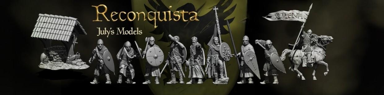 11th Century Spanish Crusader de Caballero Miniatures pour Saga, the vinking age, et jeux historique
