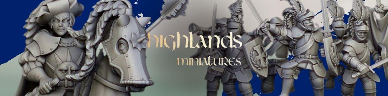 Sunland Empire de Highlands Miniatures pour Warhammer 9th age, AOS, KOW,...