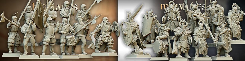 Sunland Empire de Highlands Miniatures pour Saga, the vinking age, et jeux historique