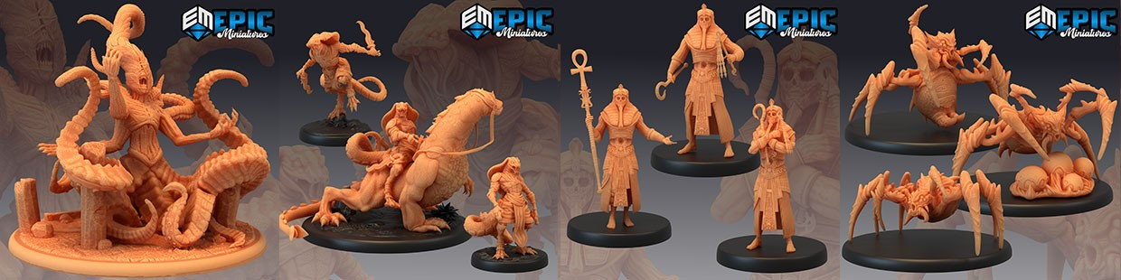 Ruins of Madness de Epic Miniatures pour Warhammer 9th age, AOS, KOW,...