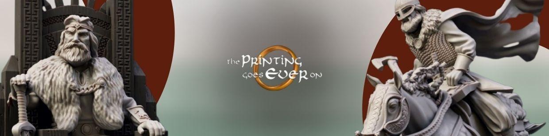 Les cavaliers du rohan sont de sortis chez The Printing Goes Everon !