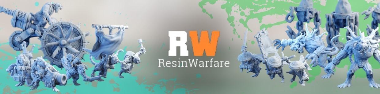 Resin Warfare, spécialisé dans les figurines pour Warhammer 9th age