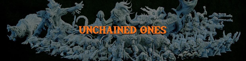 Unchained Ones de la Ravenous Hordes de Resin Warfare