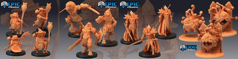 Last Rebellion de Epic Miniatures pour Warhammer 9th age, AOS, KOW,...